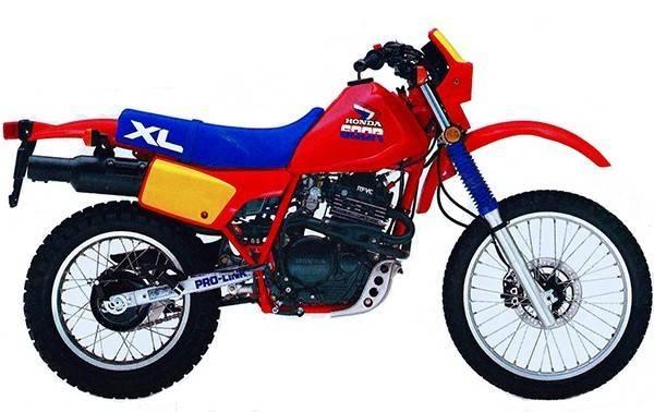 XL600R, RM, LM