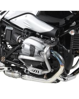 Hepco & Becker Engine Guard For BMW R nineT in Silver (Fits All Model Variations)
