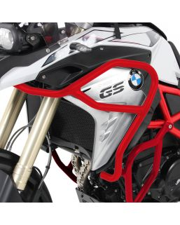 Hepco & Becker Tank Guard for BMW F800GS '17- in Red