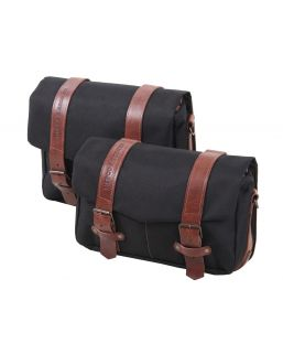 Hepco & Becker Legacy Courier Bag Set M/L for C-Bow Carrier Black