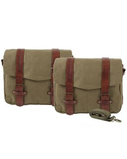 Hepco & Becker Legacy Courier Bag Set L/L for C-Bow Carrier