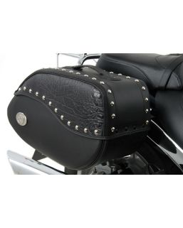 Ivory Black leather bag - 30 liters for C-Bow only