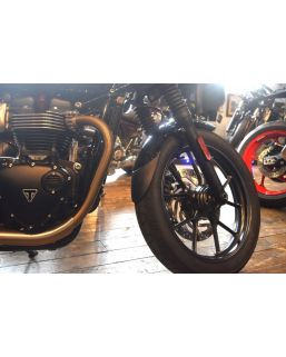 Pyramid Plastics Extenda Fenda Fender Extender Stick Fit for Triumph Street Twin '16-