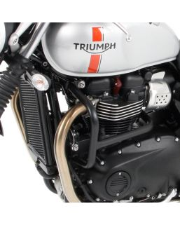 Hepco & Becker Engine Guard for Triumph Thruxton R, Street Twin, Bonneville T120 '16- in Chrome