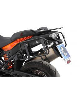 Hepco & Becker Lock-it Side Carrier Asymmetrical Version - KTM 1050, 1190, & 1290 Adventure Models
