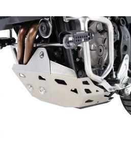 Hepco & Becker Skid Plate Yamaha Tenere 700 Silver