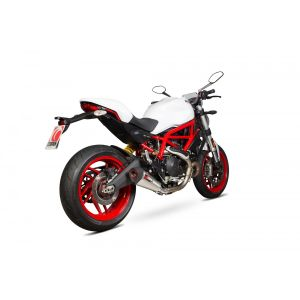Scorpion Serket Taper Slip-On Exhaust Ducati Monster 797 2017-2019