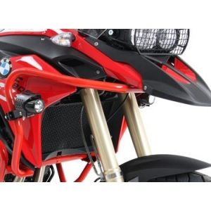 Hepco & Becker Tank Guard for BMW F650GS, F700GS, F800GS -'17 in Red