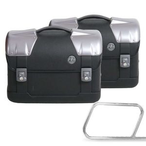 Strayker Side Case Set - 23 liter for leather bag holder
