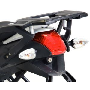 Rear Alurack - BMW R1200R With OEM BMW Side Cases