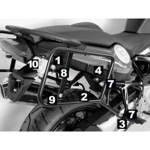Lock-it Side Carrier - BMW F800 ST