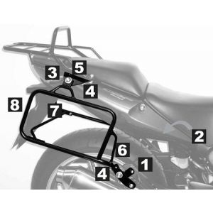 Lock-it Side Carrier - Honda CBF 600 S / N from 08'