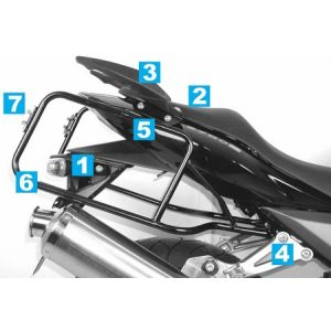 Side Carrier - Kawasaki Z 750 S up to 05 - 06'