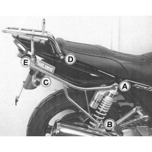 Rear Rack - Yamaha XJR 1300 from 04 - 06' in Black