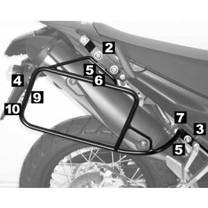 Lock-it Side Carrier - Yamaha XT 660 R / X from 07'