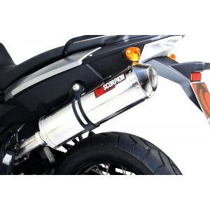 Scorpion Serket Parallel Slip-On Exhaust BMW F800GT / F800R 2013-2019