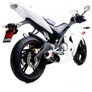 Scorpion Power Cone Slip-On Exhaust Yamaha YZFR 125 2008-2013