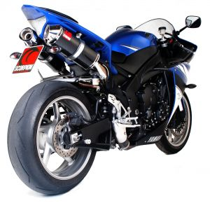 Scorpion Factory Oval Slip-On Exhaust Yamaha R1 2009-2014