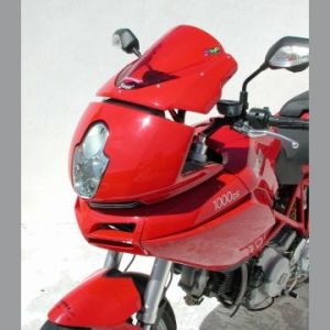 Ermax Aeromax Screen Windshield 27cm for Ducati 620,1000,1100DS Multistrada '04-'09