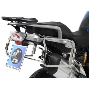 Hepco & Becker Cutout Side Carrier With Xplorer Cases For BMW R1200GS LC '13- & Adv. '14-