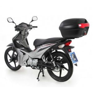 Rear Alurack - Honda Wave 110i with Journey 40 Top Case in Black