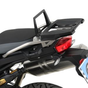 Hepco & Becker Rear Alurack BMW F750GS & F850GS (With OEM BMW Saddelbags)