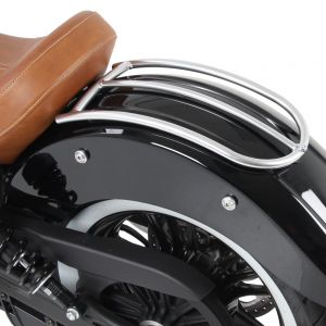Hepco & Becker Rear Fender Railing for Indian Scout & Sixty '15- in Chrome