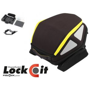 Hepco & Becker Rear Royster Soft Bag in Yellow (Lock-it Version Rear Tank Ring)