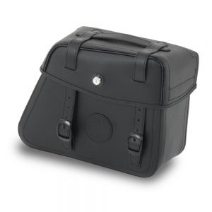 Hepco & Becker Rugged Saddlebags for Cutout Carrier in Black