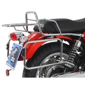 Side Carrier - Moto Guzzi V7 & V7II Classic & Special in Chrome