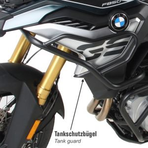 Hepco & Becker Tank Guard BMW F750GS & F850GS Black