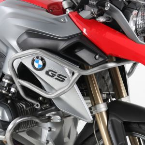 Hepco & Becker Tank Guard - BMW R1200GS from '13-'16 in Silver