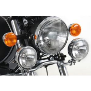 Twinlights - Moto Guzzi California Special / Sport / Jackal / Stone Touring With WIndshield