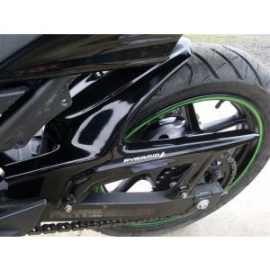 Pyramid Plastics Rear Hugger in Black Kawasaki 250 '08-