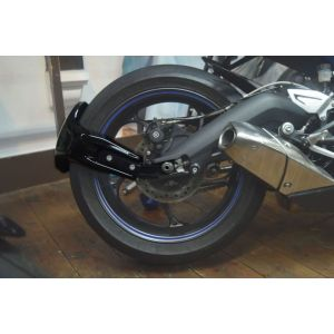Pyramid Plastics Rear Spray Guard (Black) for Triumph Street Triple 675 '13 & Daytona 600, 650, 675