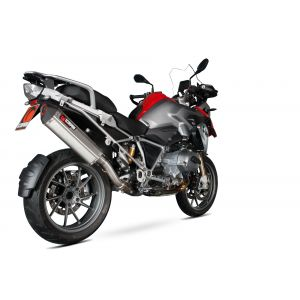 Scorpion Serket Parallel Slip-On Exhaust BMW R1200GS 2013-2019