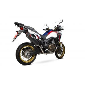 Scorpion Serket Parallel Full System Exhaust Honda Africa Twin CRF1000L 2015-2017