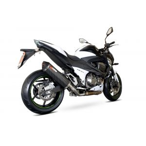 Scorpion Serket Parallel Slip-On Exhaust Kawasaki Z800 2013-2016