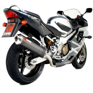 Scorpion Factory Oval Slip-On Exhaust Honda CBR600 Fi F4i 2001-2008