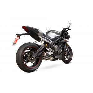 Scorpion RP1-GP Slip-On Exhaust Triumph Street Triple 765 2017-2019