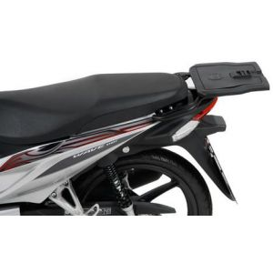 Rear Alurack - Honda Wave 110i with Journey 40 Top Case in Silver