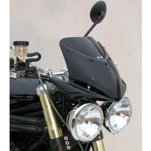 Ermax High Screen Windshield +15cm (Fits Nose Fairing) for Triumph Speed Triple 1050 '05-'10