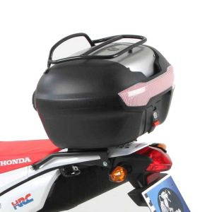 Rear Alurack - Honda CRF 250L with Journey 40 Top Case in Silver