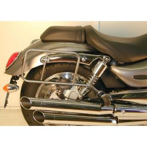 Side Carrier - Triumph Rocket III Roadster in Black