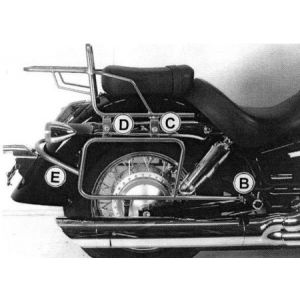 Side Carrier - Honda VT 750 Shadow from 04 - 07'