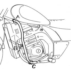 Engine Guard - Kawasaki EL 250 / 252