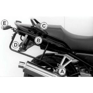 Side Carrier - Yamaha FZS / S 600 Fazer from 00'