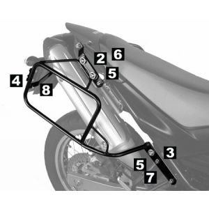 Lock-it Side Carrier - Yamaha XT 660 R / X  up to 06'