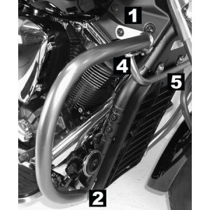 Engine Guard - Yamaha XVS 1300 Midnight Star