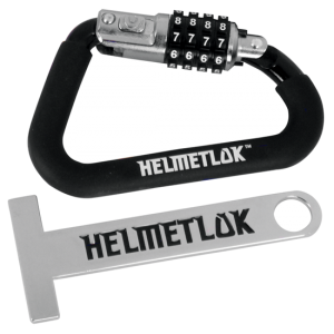 HelmetLok 2 Motorcycle Helmet Lock Combination With Extension